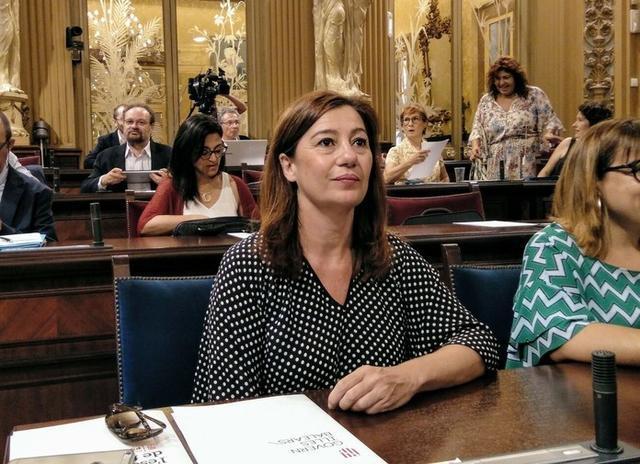 La presidenta del Govern, Francina Armengol (Foto: Archivo)