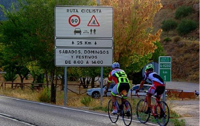 Ciclistas en las carreteras de Mallorca (Archivo)