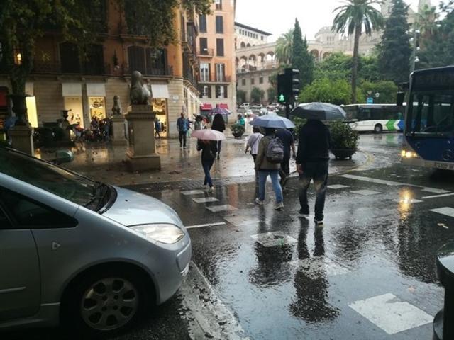 La lluvia, protagonista en septiembre