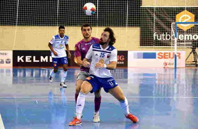 Los de Vadillo merecieron un resultado más holgado en Zaragoza (Foto: Palma Futsal)