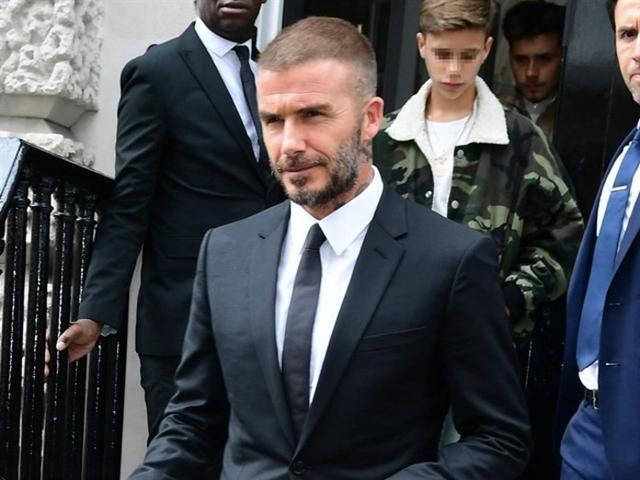 David Beckham tiene en la actualidad 43 años