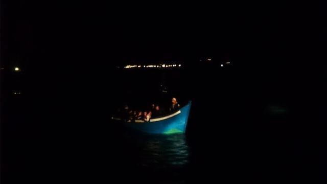 Las embarcaciones han sido interceptadas esta pasada madrugada (Foto: Guardia Civil)