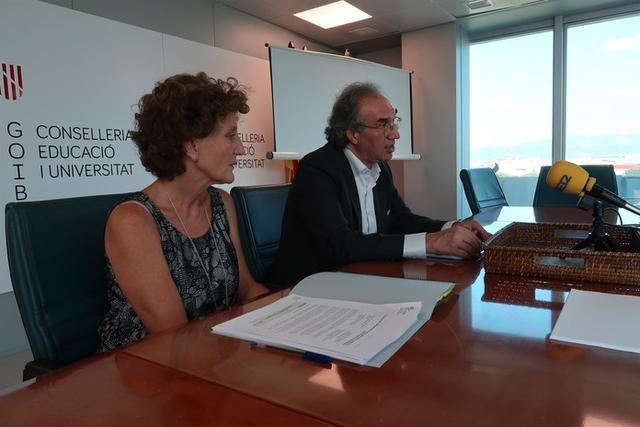 Momento de la presentación (Foto: CAIB)
