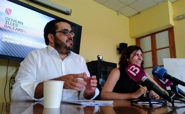 Vidal y Garau, este jueves en rueda de prensa