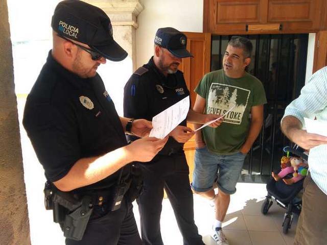 La Policía Local también estará bien equipada (Foto: Aj Ses Salines)