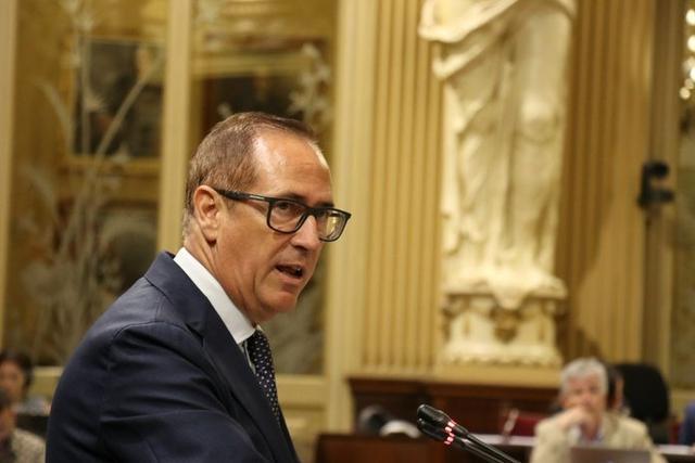 El diputado popular Juan Manuel Lafuente (Foto: Twitter Parlament Balear)