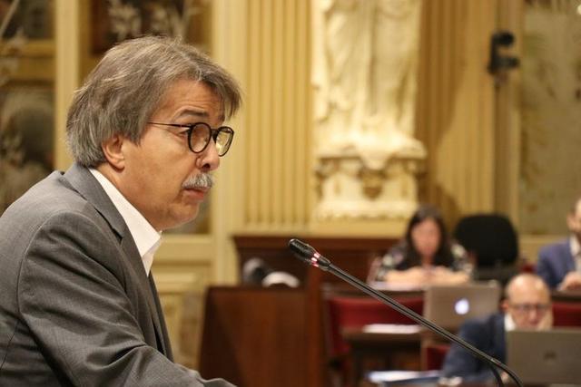 El portavoz de Cs, Xavier Pericay (Foto: Twitter Parlament Balear)