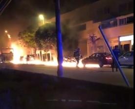 incendio ibiza autobus y coches