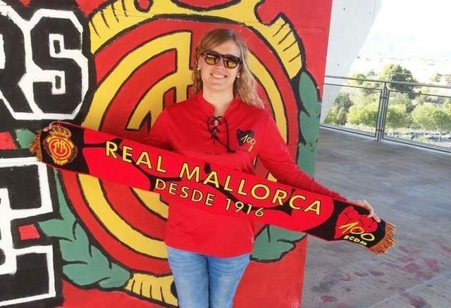 Una abogada cuya pasión es el RCD Mallorca