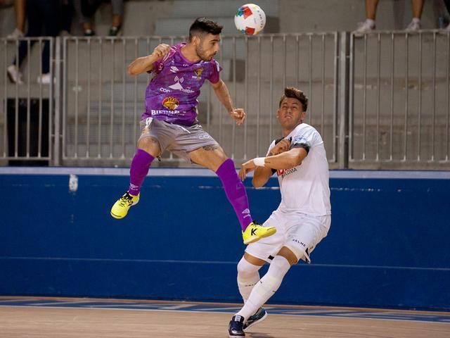 En la tercera jornada, los mallorquines endosaron a los catalanes media docena de goles en su visita (Foto: Palma Futsal)