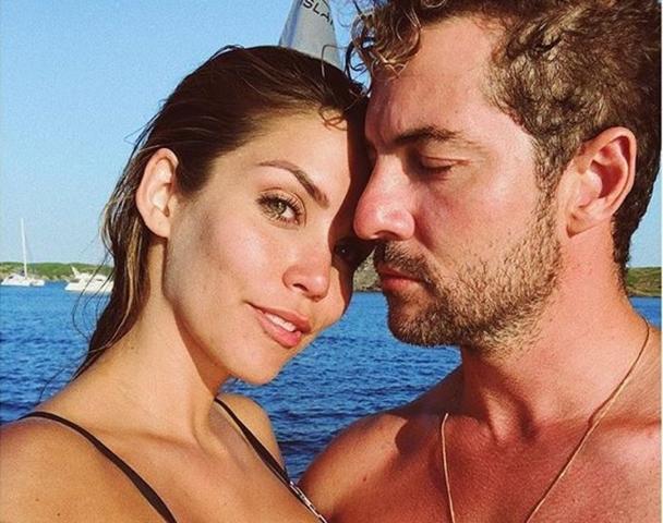 Bisbal y su mujer Rosanna Zanetti en verano (Foto: Instagram)