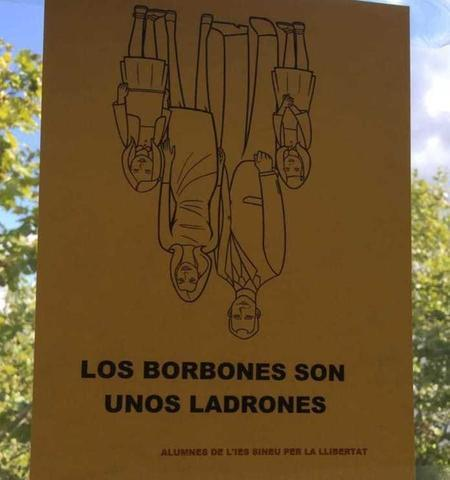Los Borbones también fueron recordados (Foto: Actúa-Vox)