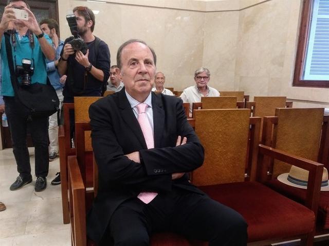 El exconseller de Interior, José María Rodríguez (Foto: Europa Press)