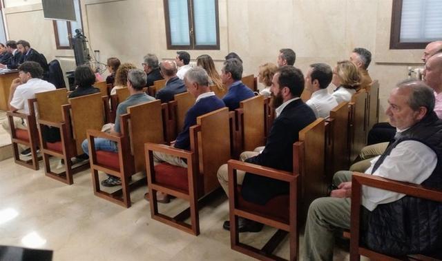 Imagen del juicio realizando este lunes (Foto: Europa Press)