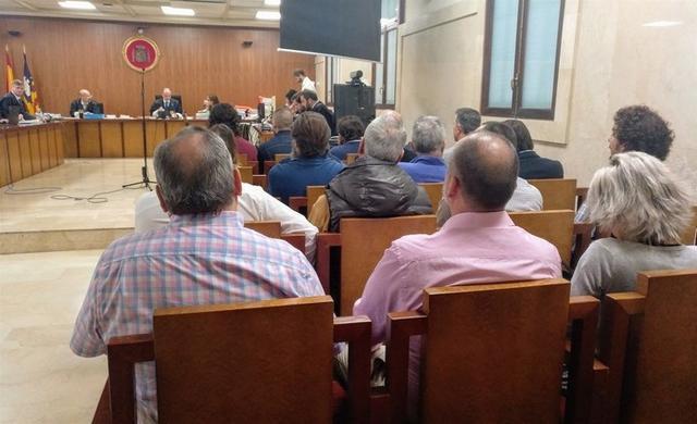 Imagen del juicio celebrado este martes en la Audiencia de Palma (Foto: Europa Press)
