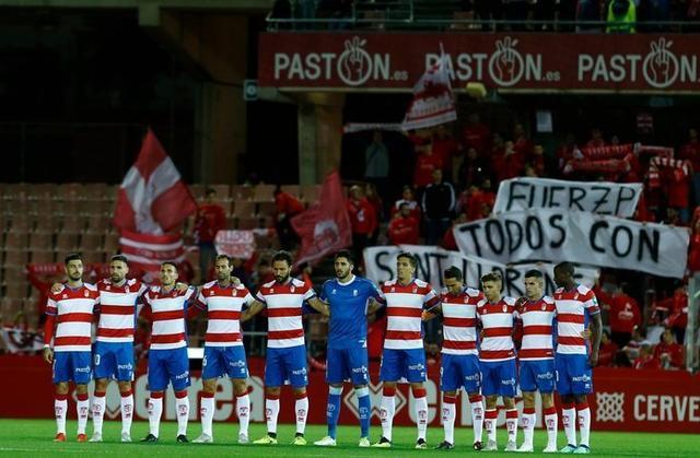 Precioso detalle de la afición nazarí (Foto: Twitter Granada FC)