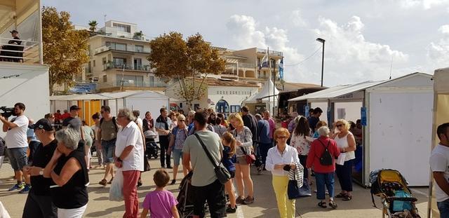 El Port de Cala Rajada, lleno de gente (Foto: AJ Capdepera)