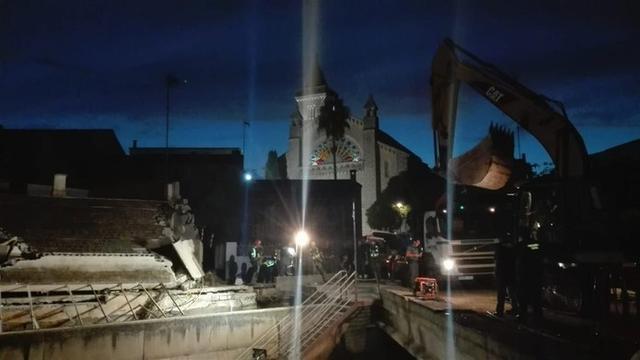 La búsqueda se centra justo al lado de la Iglesia de Son Carrió (Foto: 112)