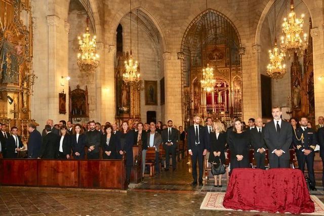 Los Reyes han presidido el acto (Foto: Twitter Govern balear)