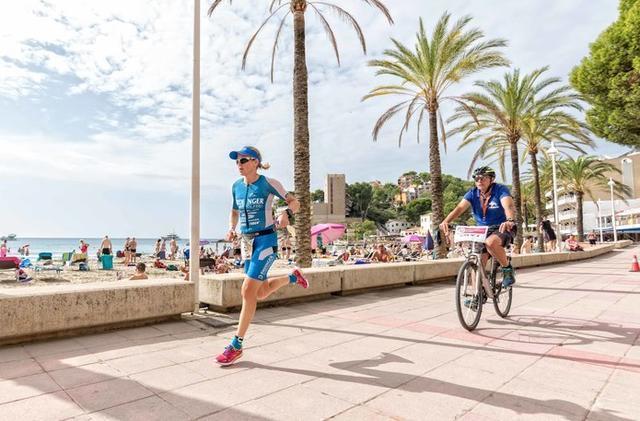 La climatología ha respetado a los triatletas (Foto: Aj Calvià)
