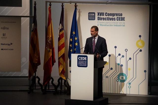Es la tercera semana consecutiva que Don Felipe viaja a Mallorca (Foto: CEDE)