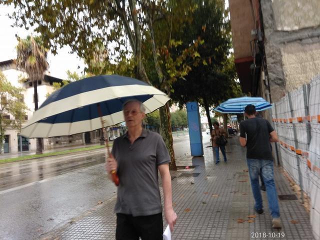 Las lluvias, tormentas y vientos fuertes están previstas para este fin de semana (Foto: María Jesús Almendáriz)