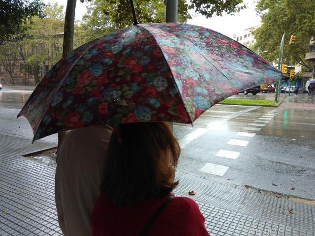 Los rayos y truenas y las lluvias ya han vuelto a Baleares, tal y como estaba previsto (Foto: María Jesús Almendáriz)