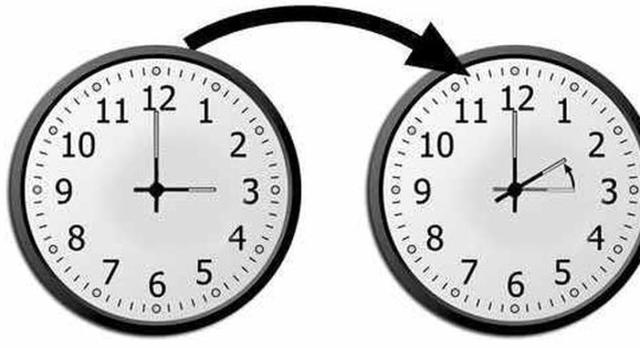 Recuerden a las 3:00 de la mañana, hay que atrasar el reloj una hora: Serán las 2:00 de la mañana (Archivo)