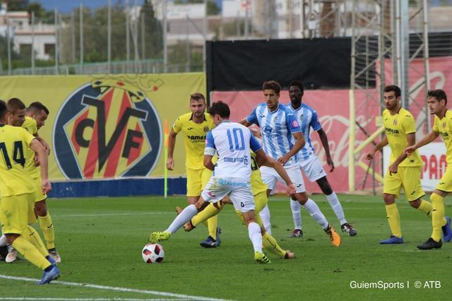 Atletico Baleaares frente al Villareal