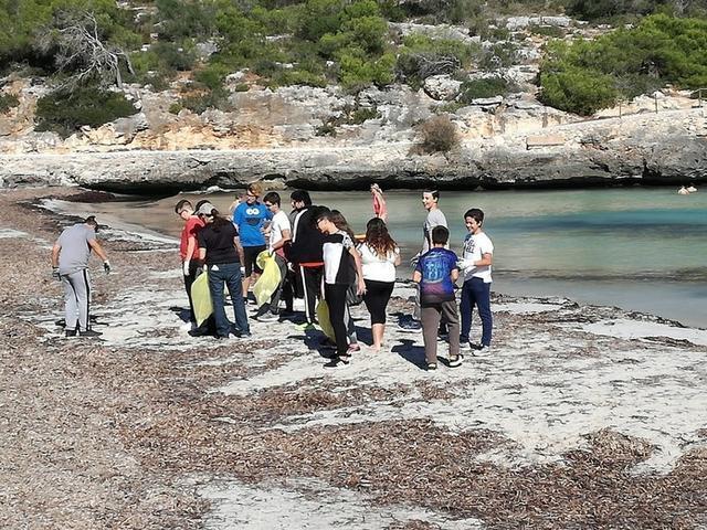 Participaron 80 alumnos del IES Santanyí (Foto: CAIB)