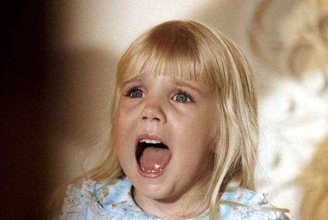 Heather O'Rourke, quien encarnaba a Carol Anne, falleció en el hospital cuando tenía tan solo 12 años