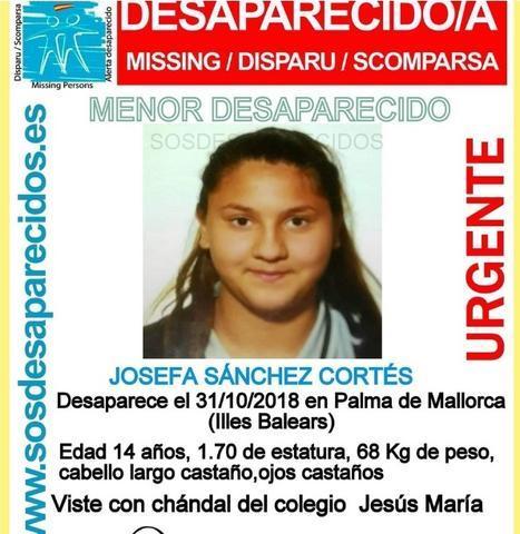 La menor tiene 14 años y según su familia fue al colegio y ya no volvió
