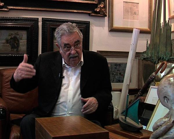 El editor de Última Hora Pere A. Serra en una imagen tomada por Filmótica
