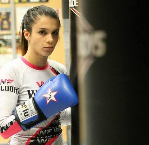 Alba Ortiz, una campeona de 19 años (Foto: Facebook)