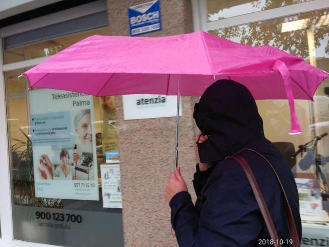 Los chubascos pueden ser estar ocasionalmente acompañados de tormenta y ser localmente fuertes (Foto: M.J. Armendáriz)