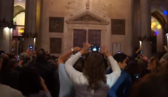 Un año más la catedral de Palma celebra la Fiesta de la Luz