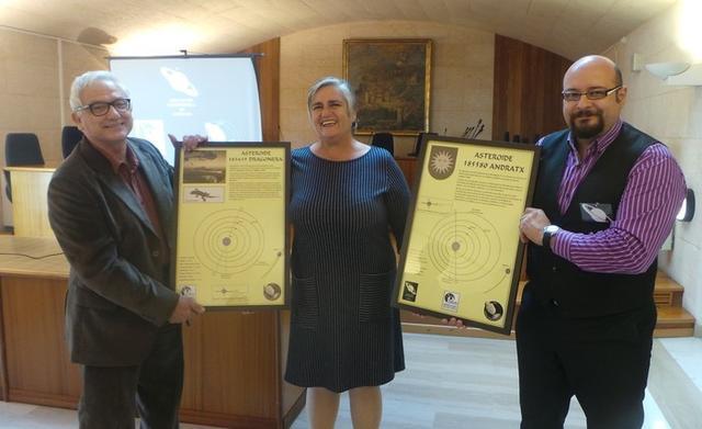 La alcaldesa Katia Rouarch ha presentado el acto (Foto: Aj Andratx)