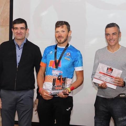 El triatleta superó las expectativas en el UMM (Foto: Facebook)