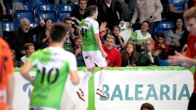 Los de verde pistacho defienden el liderato (Foto: Palma Futsal)