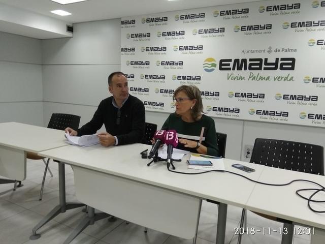 La gerente de Emaya, Imma Mayol, ha informado de que se ha abierto un expediente disciplinario a las siete personas (Foto: Europa Press)
