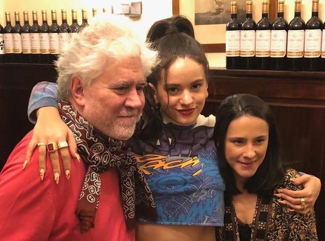 Los dos artistas salieron a cenar juntos (Foto: Twitter)