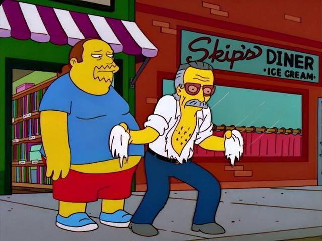 """En un capítulo de """"The Simpsons"""""""