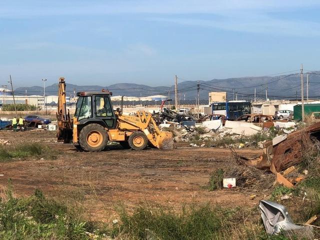La próxima semana se continuará con el desmantelamiento (Foto; Aj Palma)