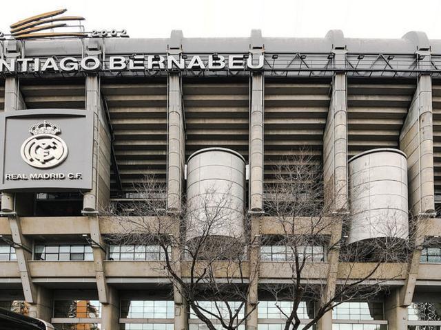 Exterior del Santiago Bernabéu