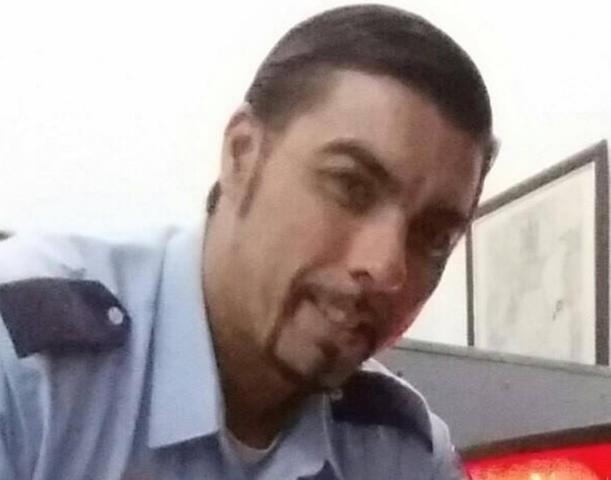 Rafael Pantoja es vigilante de seguridad