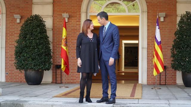 El regionalista de El Pi, Jaume Montserrat, y el socialista Xisco Duarte