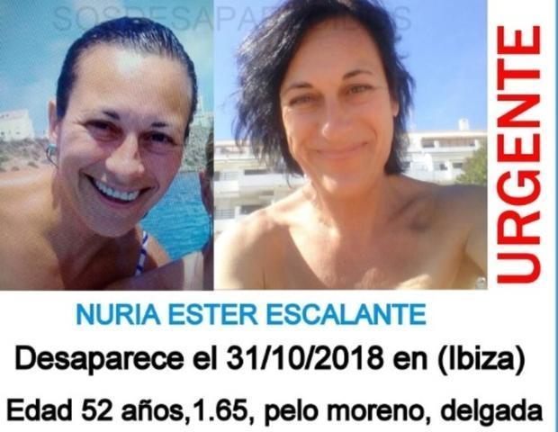Cartel colgado en 'Desaparecidos'