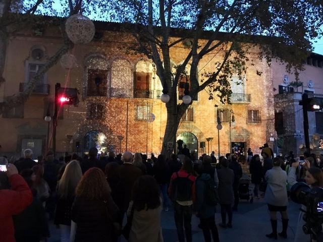 Encendido navideño Palma 2018