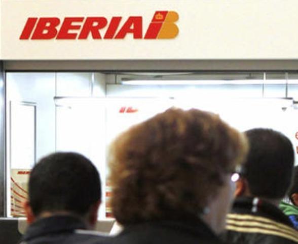 Oficina de la compañía Iberia (Archivo)