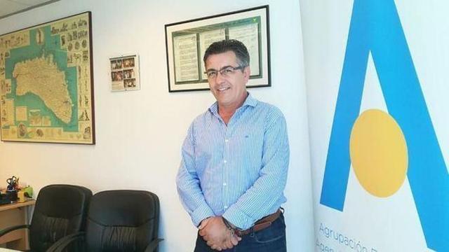 El presidente de Aviba, Antoni Abrines